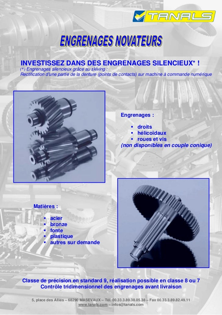 INVESTISSEZ DANS DES ENGRENAGES SILENCIEUX* !(*) Engrenages silencieux grâce au skiving :Rectification dune partie de la d...