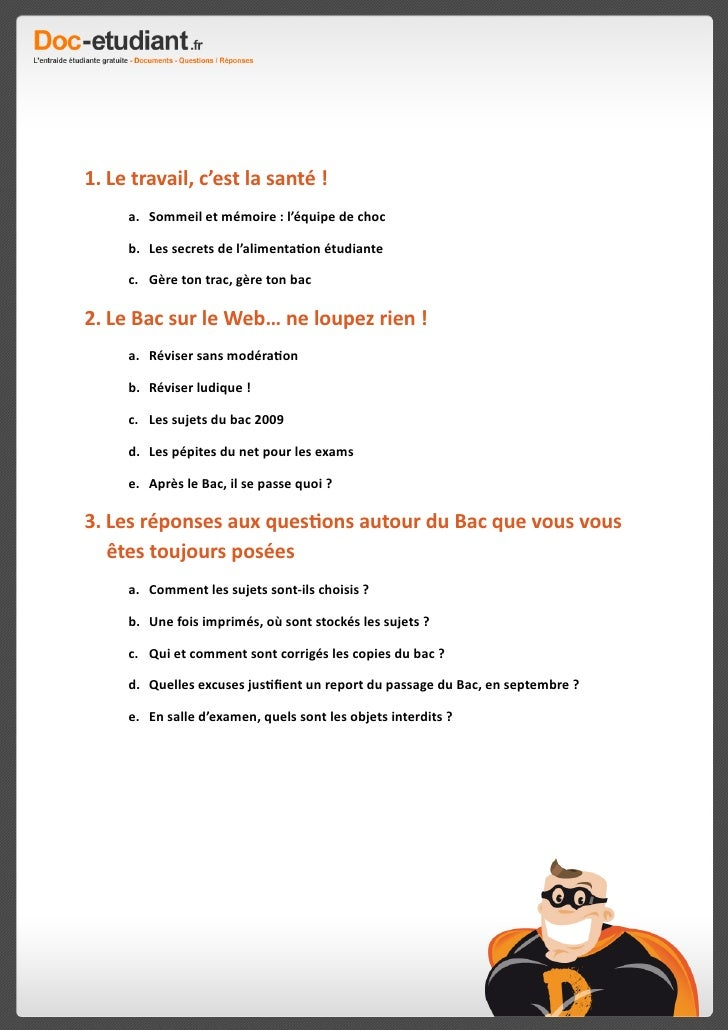 Le Guide Du Bac 2009 de Doc-etudiant.fr Slide 3