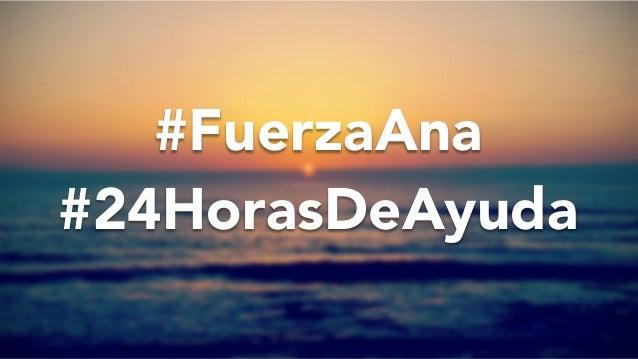 #FuerzaAna  #24HorasDeAyuda @PabloDiMeglio