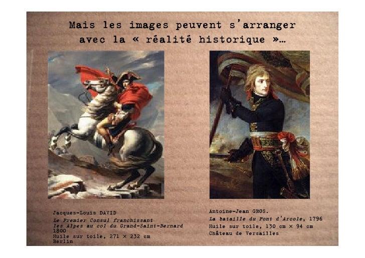 Mais les images peuvent s'arranger       avec la «!réalité historique!»…     Jacques-Louis DAVID                       Ant...