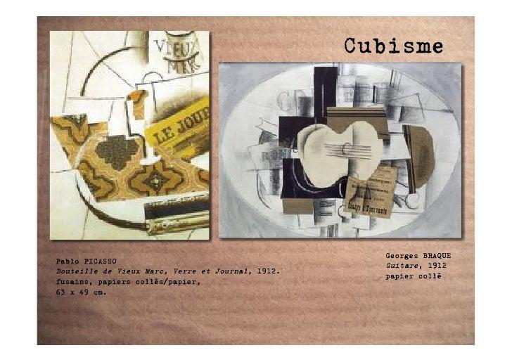 Cubisme                                                          Georges BRAQUE Pablo PICASSO                             ...