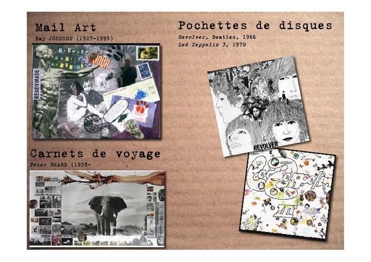 Mail Art                  Pochettes de disques  Ray JOHNSON (1927-1995)   Revolver, Beatles, 1966                         ...