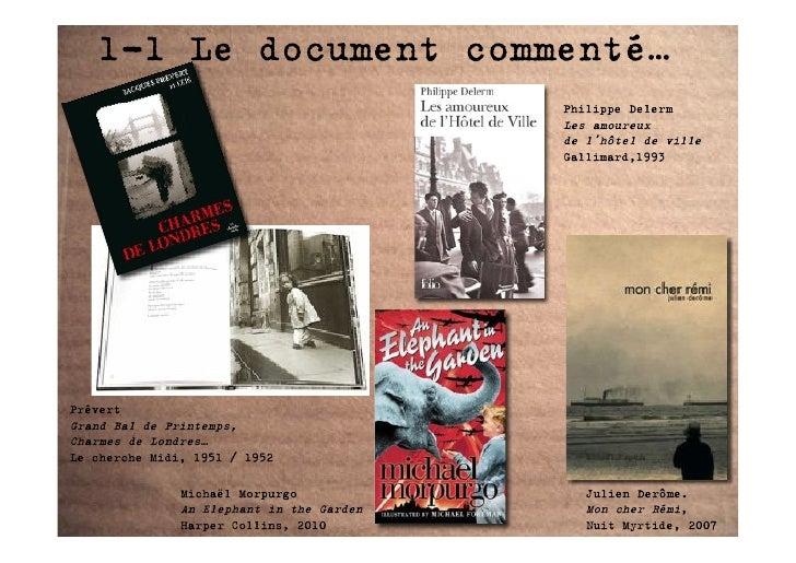 1-1 Le document commenté…                                            Philippe Delerm                                      ...