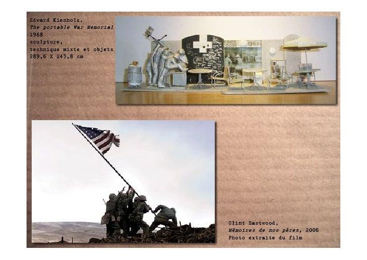 Edward Kienholz. The portable War Memorial 1968 sculpture, technique mixte et objets 289,6 X 243,8 cm                     ...