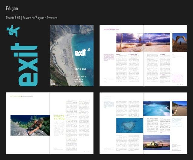 Edição 25468428 Revista EXIT | Revista de Viagens e Aventura