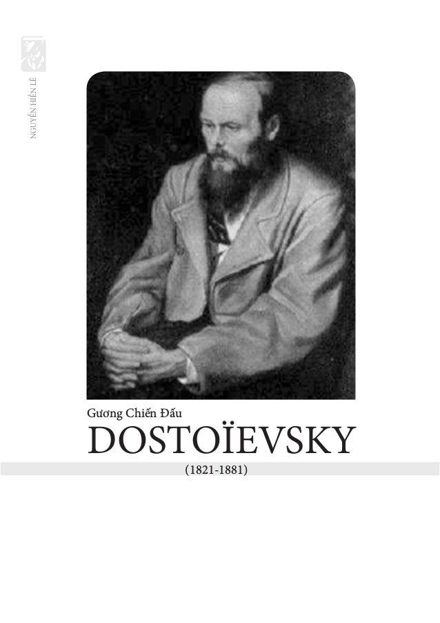 NGUYỄNHIẾNLÊ Gương Chiến Đấu DOSTOЇEVSKY (1821-1881)