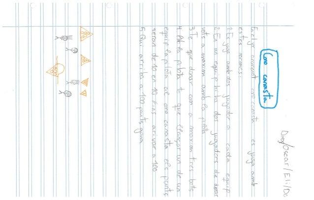jocs inventats per les i els alumnes de 4t. Full de ratlles