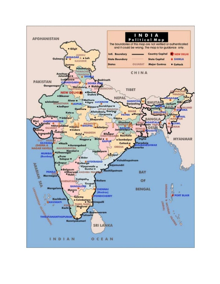 Map Of India Political.Map India Political