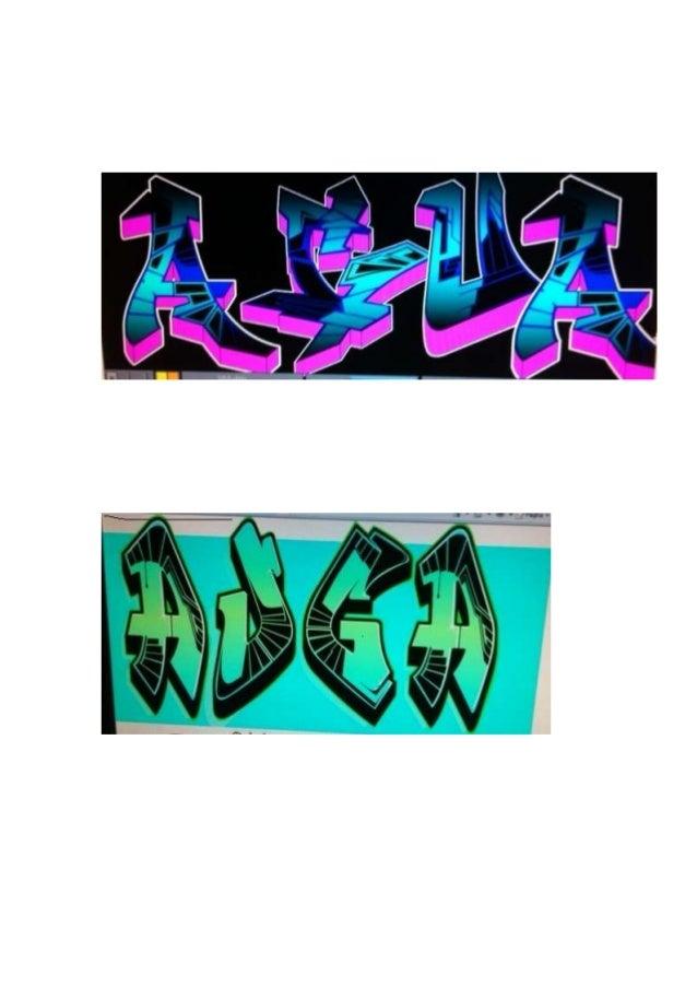 Graffitis de 4º B