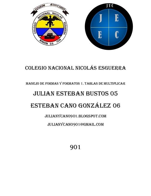 JYC                                      J         E                                     E          CColegio nacional Nico...