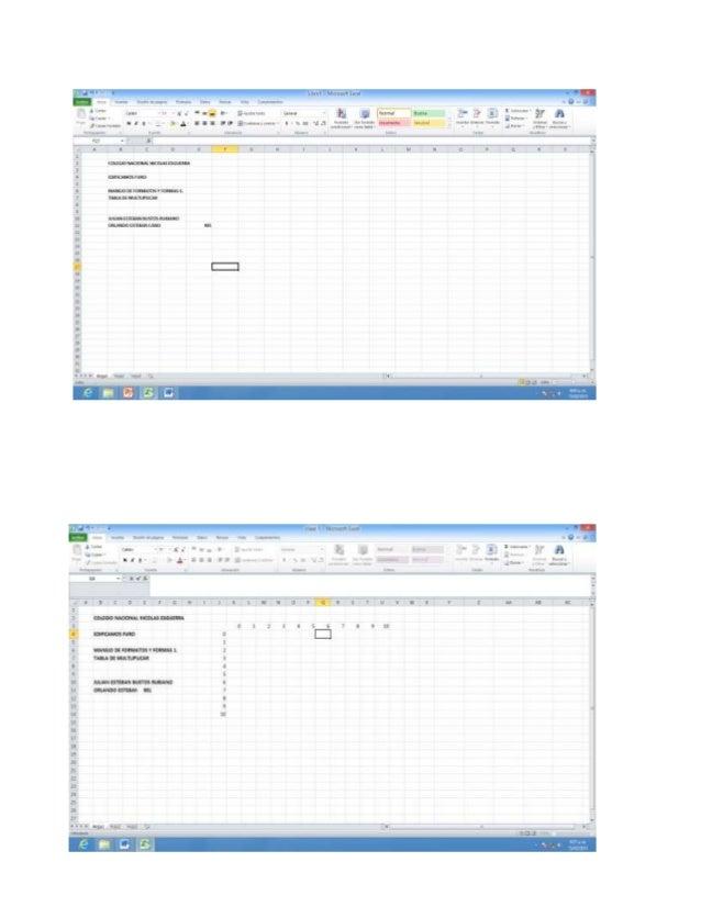 tabla de multiplicar  Slide 2
