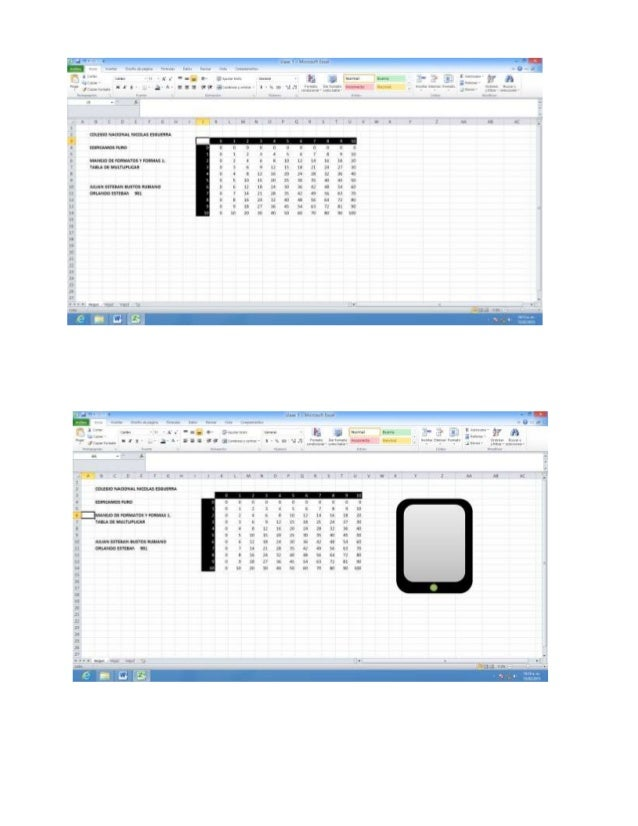 tabla de multiplicar  Slide 3