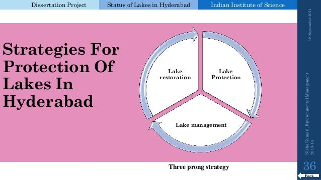 status of lakes in hyderabad by nisha The main aim of this study is to assess the pollution status and quality of water of this lake water samples were collected from three sites of the lake that are in-let of the lake (site-1), out-let of the lake (site-2), middle of the lake (site-3).