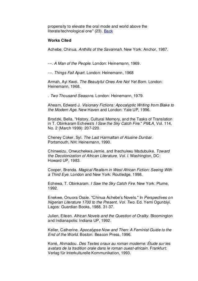 Chinua Achebe Biography Essay Sample