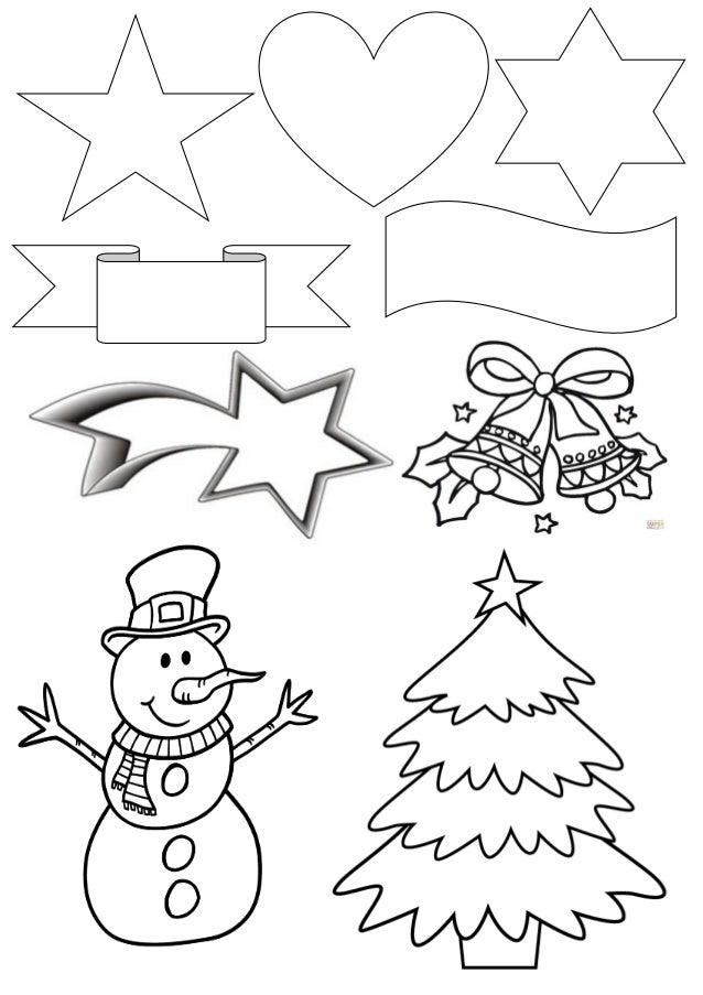 Plantillas para tarjetas navide as - Sobre de navidad para imprimir ...