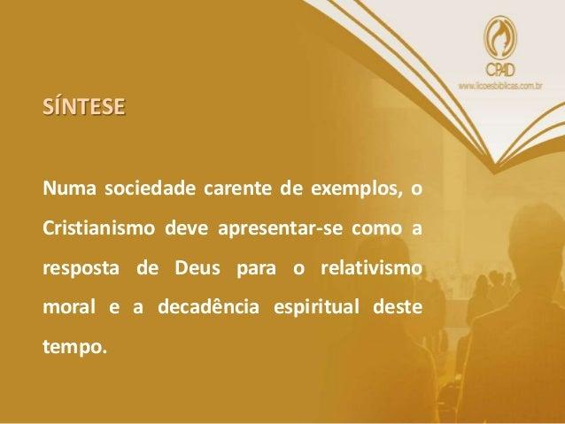 • A segunda epístola aos Tessanolicenses também termina com orientações práticas da comunidade. • A ênfase é dada na condu...