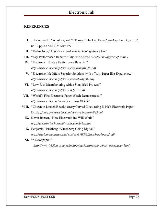 Paper pdf e technology