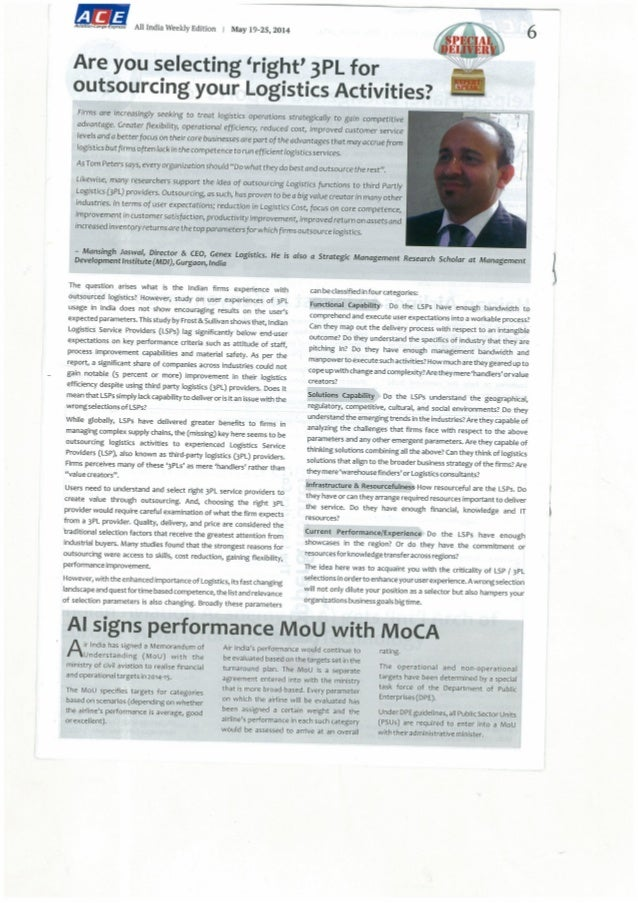 Our Blogpost Got Covered in 'Exim-Ace' Weekly