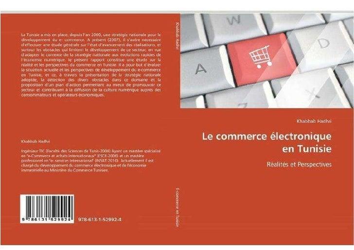 Livre le commerce électronique en Tunisie