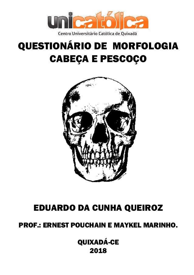 Questionário De Morfologia 300 Questões