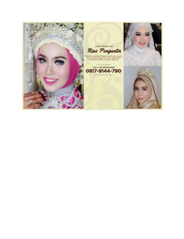 Recommended Wa 0817 9144 790 Rias Pengantin Jawa Modern