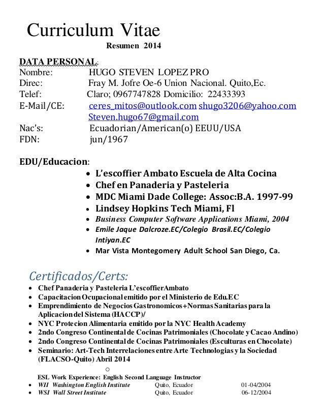 doc 2 resume cv update 2014  1