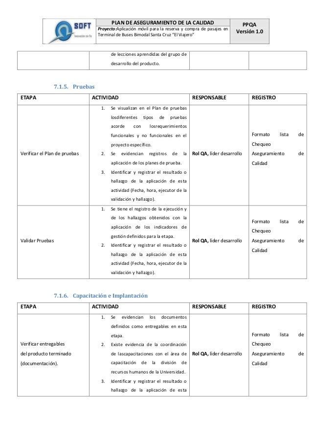 Doc 4 plan de aseguramiento de la calidad (ppqa)