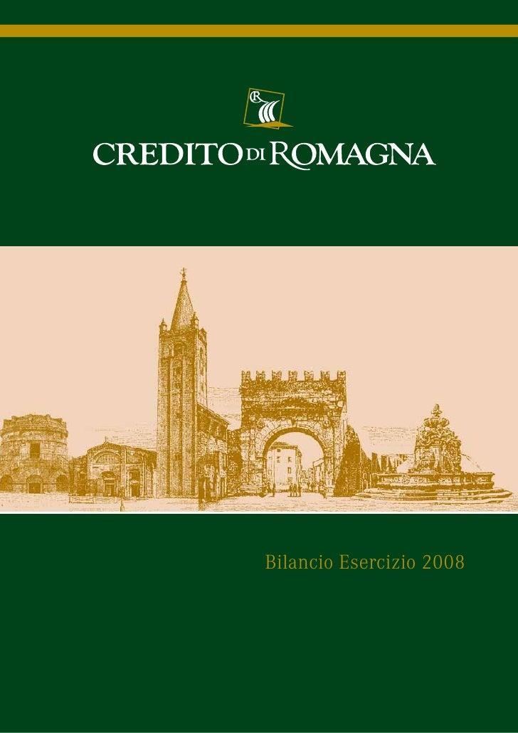 Bilancio Esercizio 2008