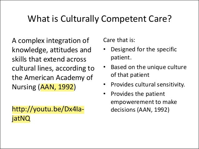cultural sensitivity in nursing practice Standards of practice for culturally competent nursing care: 2011 update   nurses shall use cross-cultural knowledge and culturally sensitive skills in.