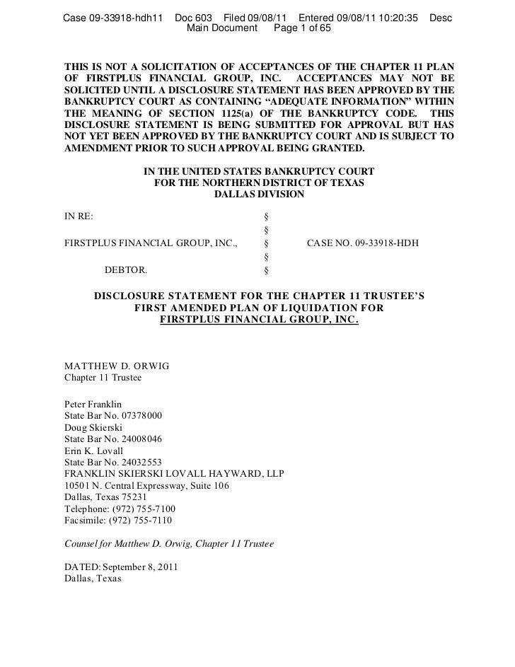 Case 09-33918-hdh11      Doc 603 Filed 09/08/11 Entered 09/08/11 10:20:35   Desc                           Main Document  ...