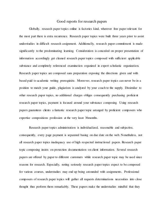 Online dating research paper topics