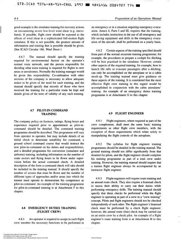 Operating Manual Template. Sample Operations Manual Template,8+ ...
