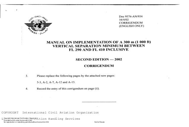 --`,,```,,,,````-`-`,,`,,`,`,,`---  COPYRIGHT  International Civil Aviation Organization  Copyright International Civil Or...