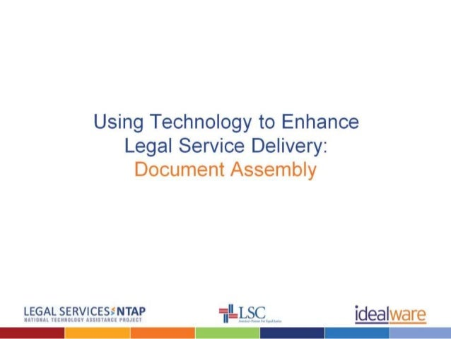 Docassembly 101 for Legal Services by Ideaware