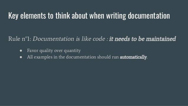 How To Write IT Technical Documentation