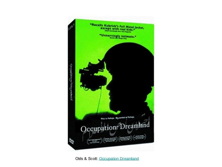 Olds & Scott:  Occupation Dreamland