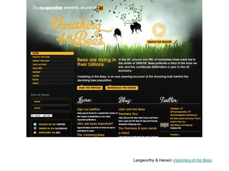 Langworthy & Henein  Vanishing of the Bees