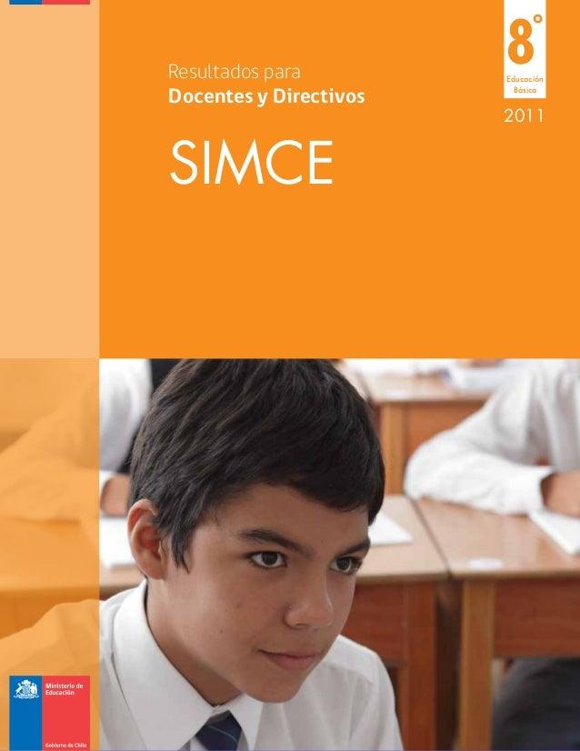 Resultados para                        8     °                        EducaciónDocentes y Directivos                      ...