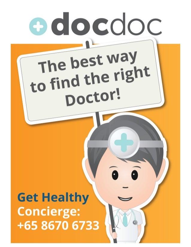 DocDoc Poster: Singapore Event