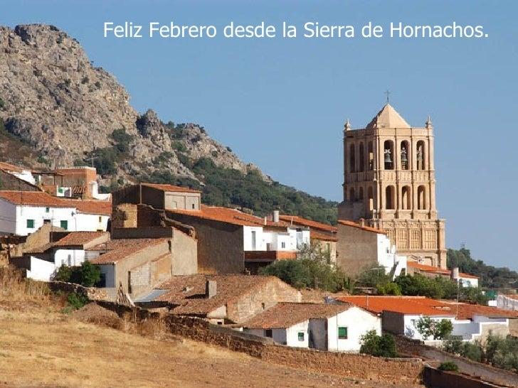 Feliz Febrero desde la Sierra de Hornachos.