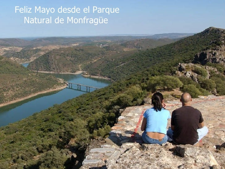 Feliz Mayo desde el Parque Natural de Monfragüe
