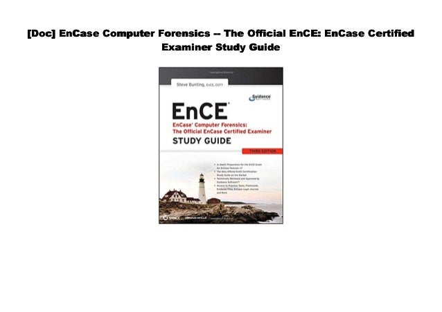 Encase computer forensics i manual by guidance software phone number