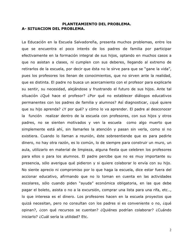 Docencia 3 Investigacion Sobre La Participacion D Elos Padres Slide 2