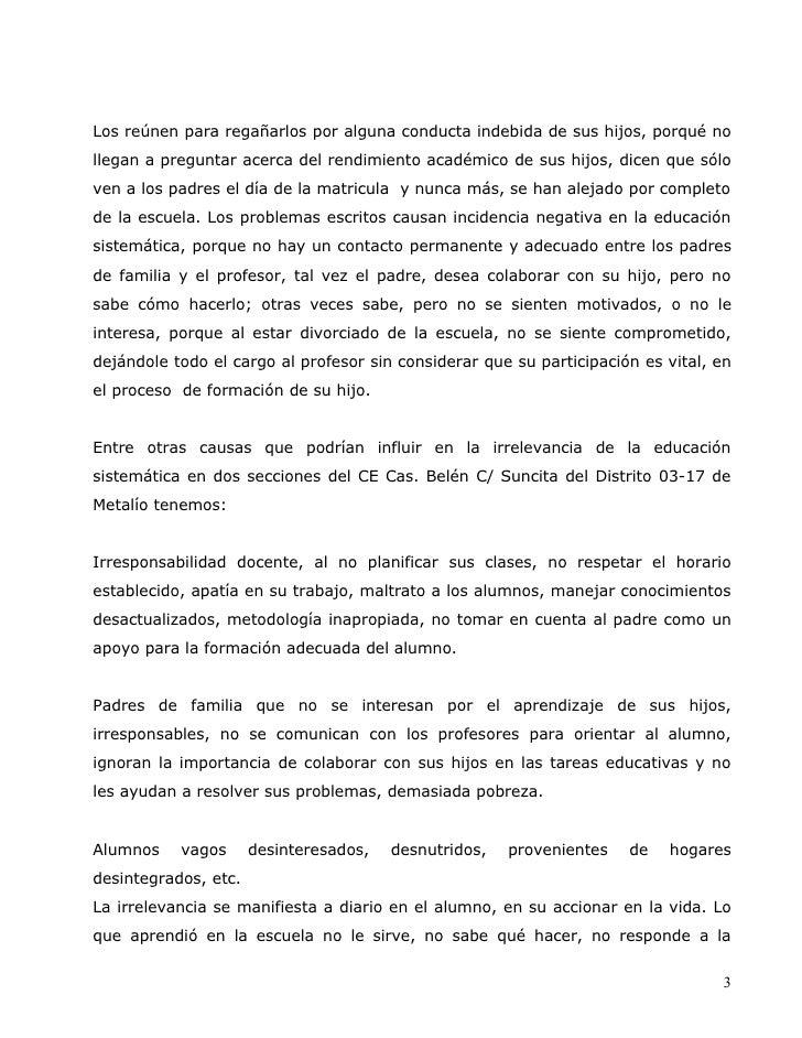 Docencia 3 Investigacion Sobre La Participacion D Elos Padres Slide 3