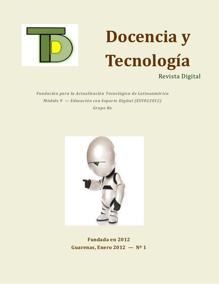Docencia y                               Tecnología                                                       Revista DigitalF...