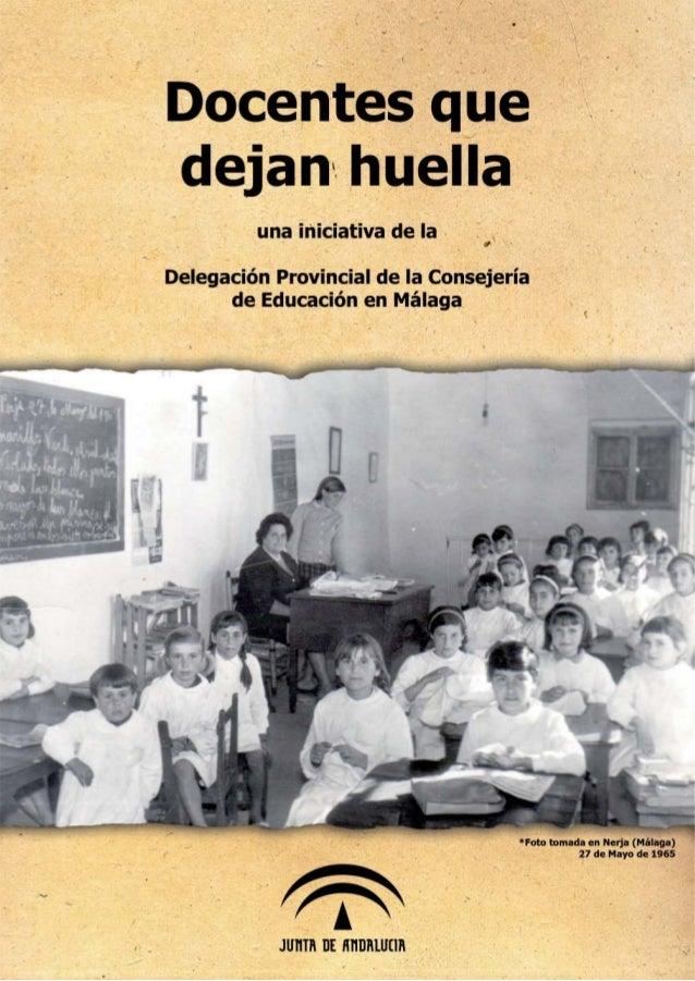 DOCENTES QUE DEJAN HUELLA ' 1