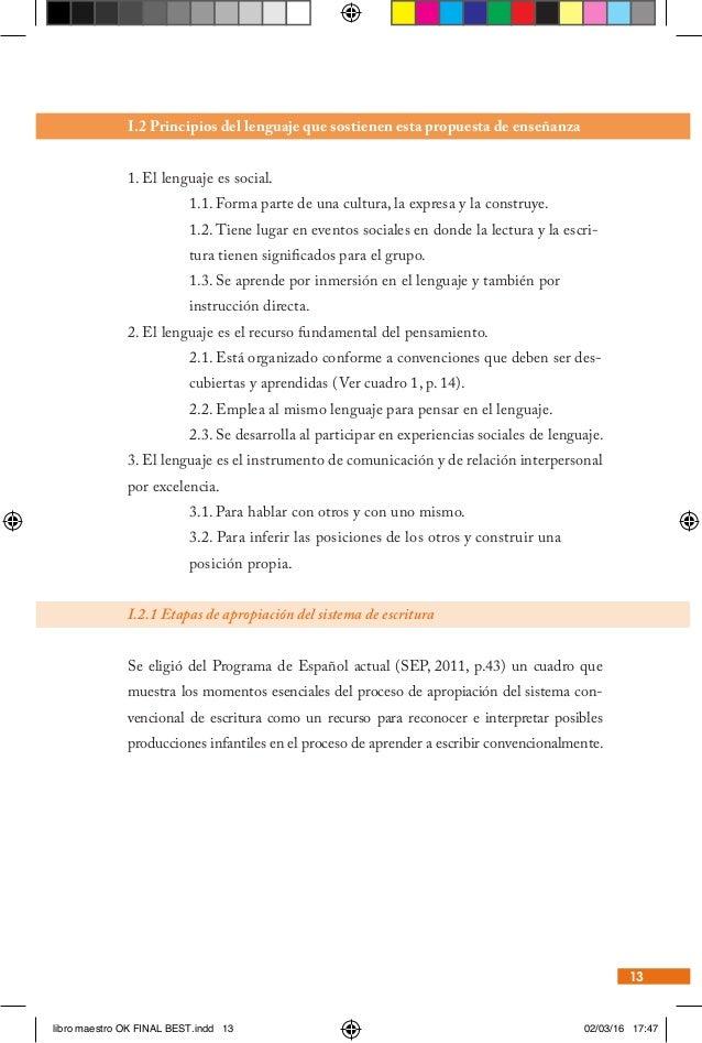 Docentes Primaria Alfabetizacion Inicial Libro Del Maestro
