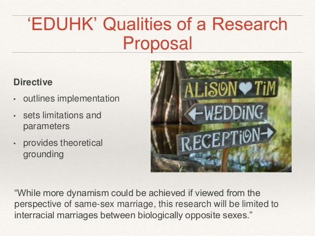 Research proposals on interracial marriages