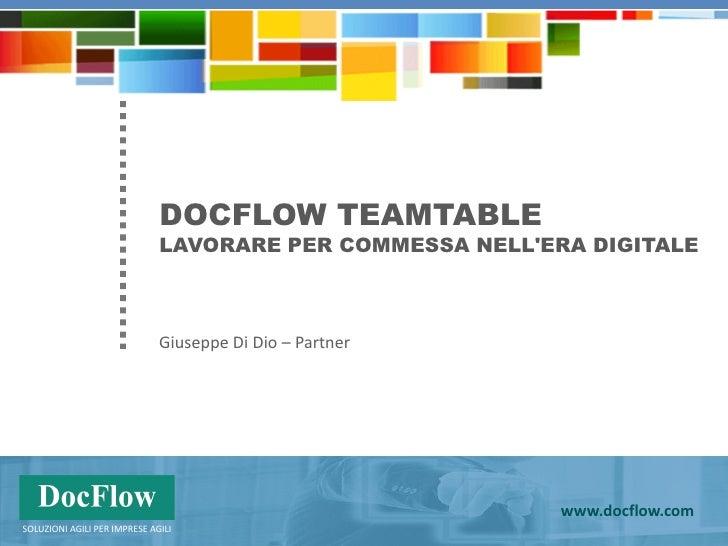 DocFlow e Microsoft                                                                                    Milano, 19 maggio 2...
