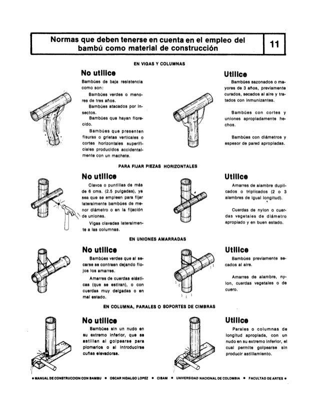 Manual de construcao com bambu - oscar hidalgo